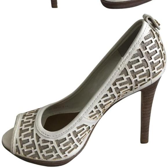 Tory Burch Shoes   Off White Regan